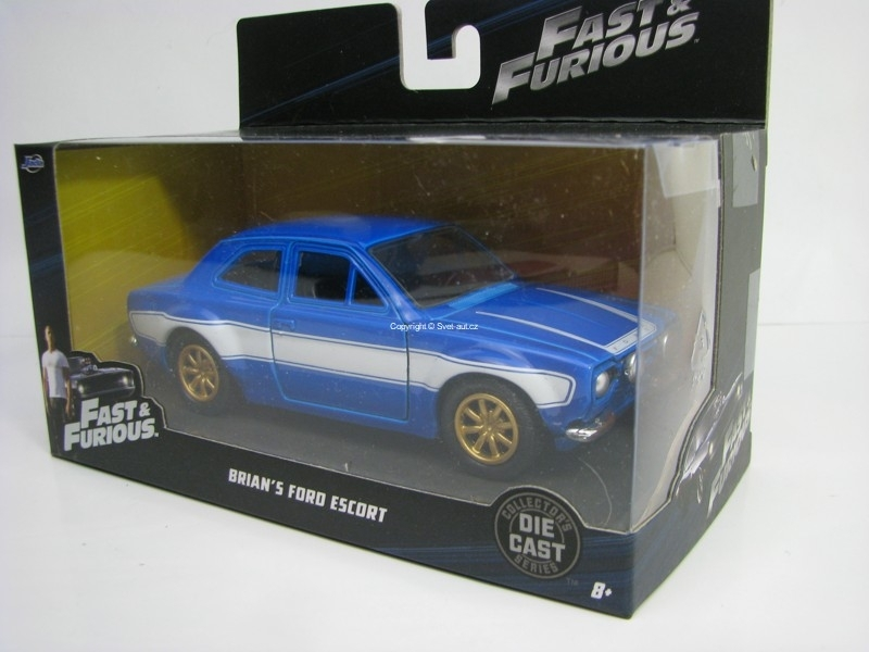 Brian's Ford Escort MKI Fast and Furious 6 1:32 Jada Toys